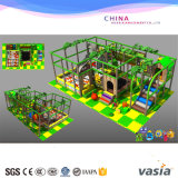 Matériel drôle de stationnement de jungle d'enfants de cour de jeu d'intérieur de thème à vendre