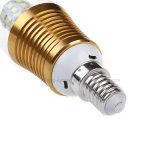 Fábrica que enciende la alta luz de bulbo ahorro de energía de la vela de los bulbos AC85-265V LED de la lámpara E14/E27 LED del lumen 5W