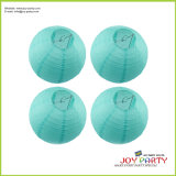 WeddingのためのイベントSolid Color Decorative Round Paper Lantern