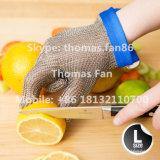 ステンレス鋼の網によって切られる抵抗力がある手袋/チェーン・メールのエプロン