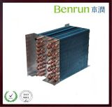Fin quadrado Type Condenser Coil de Heat Exchanger
