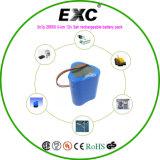 12vlithium pacchetto della batteria della batteria Exc26650
