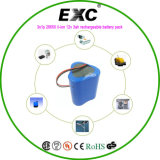 12vlithium блок батарей батареи Exc26650