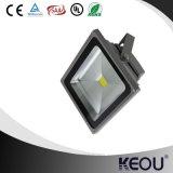 좋은 디자인 호리호리한 LED 플러드 빛 50W 알루미늄 반사체 LED 투광램프