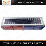 交通安全のための赤くおよび青LEDの太陽ストロボライト