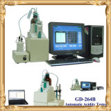 Titration Method의 Gd-264b ASTM D664 Automatic Acid Number Tester