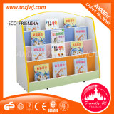KindergartenのためのセリウムCertificated Wooden Book Shelf Used Library Bookcases