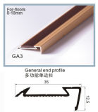 LGA Series Rubber Inlay 못 Hidden Aluminum Certic, Carpet, 8~12mm Flooring Accessories