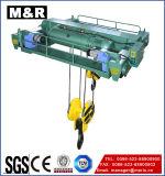 Élévateur électrique de câble métallique de 2 tonnes avec la vitesse simple