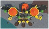 Kaiqi klassisches Kind-Schloss-im Freienspielplatz mit multi Aktivitäten