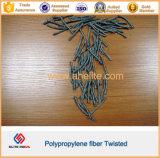 Fibre concrète de la fibre pp Bunchy