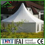 Tenda esagonale del Pagoda della tenda foranea del baldacchino esterno 3X3m