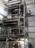 Máquina que sopla de la película principal rotatoria del PE de la segunda mano