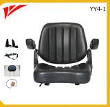 黒いPVCカバー折畳み式のフォークリフトのシート(YY4-1)