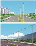 Luz de calle solar para la altura poste del contador 8-9