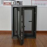 Openslaand raam van het Profiel van het Aluminium & Klamboe de het van uitstekende kwaliteit Kz124 van het Roestvrij staal van de Gordijnstof