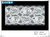 Стандарты SGS Oeko крася шнурок Streth качества и ткань шнурка