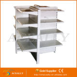 두 배 또는 Single Sided Back Net/Hole Backplane Style Gondola Supermarket Shelf Racks