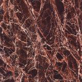 Telha de mármore escura da correia fotorreceptora 800X800mm da cor de Spain Brown