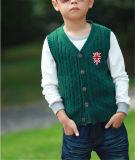 아이들을%s Single-Breasted 조끼 스웨터는 온난한 유지한다