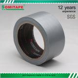 Sh318カートンのパッキングまたは包むSomitapeのための強い付着力の赤いダクトテープ単一の味方されたテープ