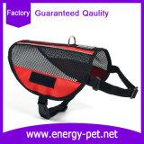 Produto do animal de estimação do chicote de fios reflexivo da veste do cão do serviço da segurança da listra