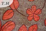 Tela pequena tão bonito do sofá do jacquard do Chenille das flores por 310GSM