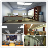 École commerciale 300*1200 enfoncé par plafond de bureau de panneau d'éclairage de DEL