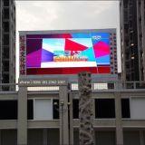 P16mm che fa pubblicità agli schermi di visualizzazione esterni del LED di colore completo di ventilazione
