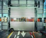 産業ローラーシャッター木のローラーシャッターアルミニウムWindowsのドア(HzFC0361)