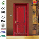 Peau en bois personnalisée de porte de mélamine de HDF/MDF (JHK-MN02)