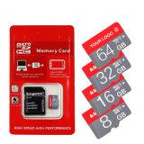 実質容量マイクロSDのカード及び小型SDのカード及びTFのカード128GB Class10