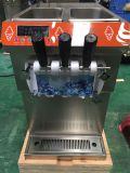 Machine de crême glacée de doux d'acier inoxydable avec du ce