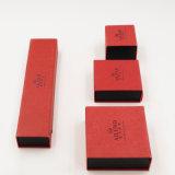 Caixa de Flannelette de veludo da jóia do anel do bracelete (J63-E1)