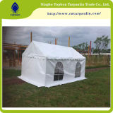 tessuto rivestito bianco della tenda del PVC 850GSM