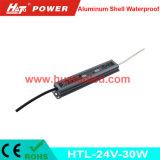 24V1.25A 알루미늄 LED 전력 공급 또는 램프 또는 유연한 지구 방수 IP67
