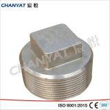DIN de acero inoxidable forjado Enchufe de montaje (1.4438, X2CrNIMo18164)