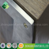 販売のための卸し売りステンレス鋼フレームの木製の上のダイニングテーブル