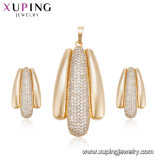 64542 diseño determinado de la joyería de traje de la joyería del cobre del oro de la manera 18K para las mujeres