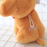 Juguete animal relleno suave de la felpa de la venta al por mayor del perro del perrito que se sienta mullido