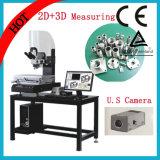 máquina video del microscopio del fabricante de la herramienta 2.5D con el sistema de medición y el banco del granito