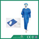 Ce&ISO ha approvato l'abito del chirurgo di Spunbond (SMS) di fusione di Spunbond (MT59551001)