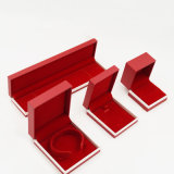 Caixa de jóia Eco-Friendly do anel do bracelete do luxo 100% (J17-E2)