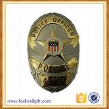 カスタマイズされた記念品によって刻まれる高品質の堅いエナメルの警察のバッジ