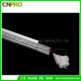 Nueva luz del tubo del diseño 160lm/W 100-240V LED Tube8 LED para nosotros