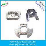 O metal da precisão girado parte a peça fazendo à máquina de alumínio do CNC, peças feitas sob encomenda do torno do CNC