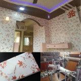 Painel de parede de madeira da laminação de China Manufacruer e de decoração do PVC painel 8*250mm ISO9001