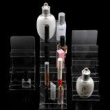 Crémaillère d'étalage acrylique transparente personnalisée de produit de beauté ou de téléphone mobile
