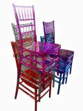 Cadeira de Chiavari Tiffany do casamento da resina do metal (LL-0060C)