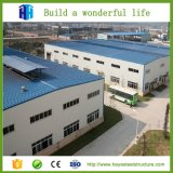 Grand entrepôt pré fabriqué en acier de structure métallique de construction d'atelier